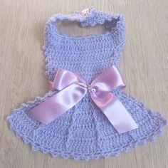 Dog Clothes Patterns, Pet Shop, Fur Babies, Crochet Necklace, Dressed Up Dogs, Dresses For Dogs, Crochet Clothes, Crochet Dog Clothes, Dog Dresses