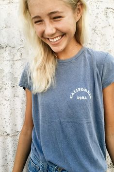 Brandy ♥ Melville | Margie CA 1984 Top - Graphics