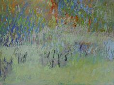 "Meadow's Edge  30"" x 40"" oil on wood"