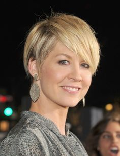 These 12 middle-age beauties have enviable hair, from  adorable short cuts to chic bobs to long, luxurious tresses.