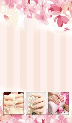 Lunes a Viernes a a Sábado a Inbox y watts 3312962946 Nail Salon Design, Nail Salon Decor, Gel Nail Designs, Nail Art Pictures, Nail Photos, Nail Atelier, Salon Price List, Wall Nails, Nail Logo