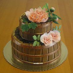 Flowerpots  cake - Cake by Monikine torty ( Cake by Monika)