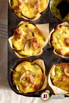 This Jimmy Dean fresh sausage recipe packs the best breakfast flavors into a mini quiche feast. Pro tip: Insert a toothpick and remove it to check when done. If the toothpick comes out clean, get ready to reach for your share of mushroom, bell pepper, cheddar cheese and onion deliciousness.
