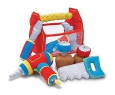 Melissa and Doug Melissa & Doug Toolbox Fill and Spill Soft Toy Kids - All Toys & Games - Macy's Toddler Gifts, Toddler Toys, Baby Toys, Children's Toys, Girl Toddler, Felt Toys, Cool Baby, Melissa & Doug, Activity Toys