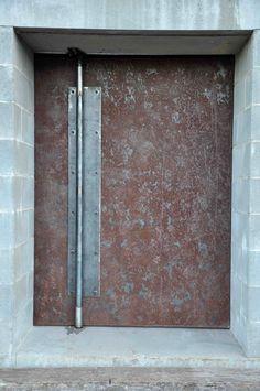 basement steel door. | MotoFotoStudio