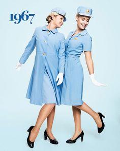 1967 - SAS flight attendant Ellinor Wickbom