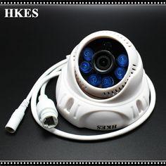 Onvif 2.0 720P IP Camera Wired CCTV Camera 1.0MP HD Indoor IR Dome IR CUT Night Vision IP CAM