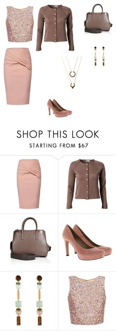 """""""Untitled #2083"""" by jamierountree1 ❤ liked on Polyvore featuring WtR, Busnel, Anya Hindmarch, Pura López, Henri Bendel and WithChic"""