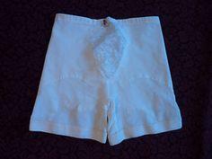 http://www.ebay.com/itm/Vintage-XL-Sears-Roebuck-Long-Legged-Panty-Girdle-White-Lace-Panel-Garters-/370901911035?pt=Vintage_Women_s_Clothing&hash=item565b7a05fb