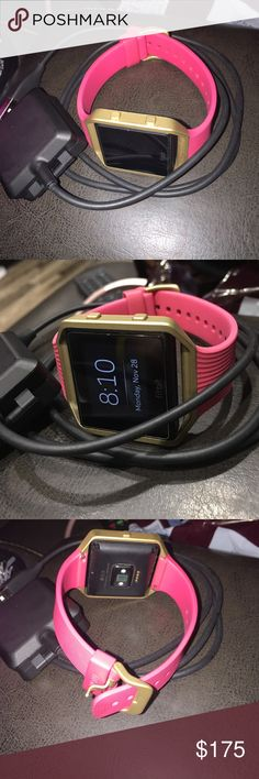 Fitbit blaze gold edition Fitbit blaze gold edition. Purchased in September  but decided to get e9c5faa95f