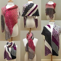 Online yarn store for knitters and crocheters. Designer yarn brands, knitting patterns, notions, knitting needles, and kits. Shop online or call Crochet Shawls And Wraps, Knitted Shawls, Sweater Knitting Patterns, Knitting Designs, Knitting Scarves, Online Yarn Store, Wrap Clothing, Yarn Brands, Riddler