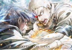 Attack on Titan | Eren Jaeger and Reiner Braun