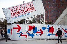 Ajuntament de Barcelona / Exposició Barcelona Direccions / Senyalització