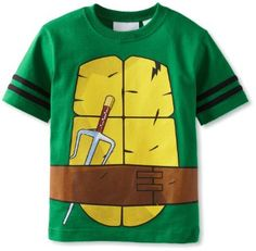 Amazon.com: Teenage Mutant Ninja Turtles Boys 2-7 Tee: Clothing $13.99