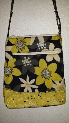 Cross body with side zip $35