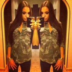 I really need that camo shirt <3