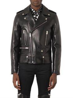 Yves Saint Laurent Biker Leather Jacket