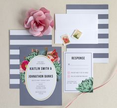 As the first sneak peek your guests will get of your big day, wedding invitations should be top priority! Were loving the gorgeous selection of invitations and stationery from online shop, Elli. Ranging from vintage to modern, couples can customize their paper goods to reflect their personal style! Known for their stunning wedding invitation suites…