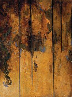 "Fred Williams, ""Sapling Forest"", oil on board Abstract Landscape Painting, Landscape Paintings, Abstract Art, Australian Painters, Australian Artists, Nature Artwork, Cool Artwork, Fred Williams, Contemporary Landscape"