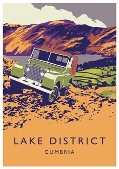 """Early 80"""" Series 1 in the Lake District Cumbria"""