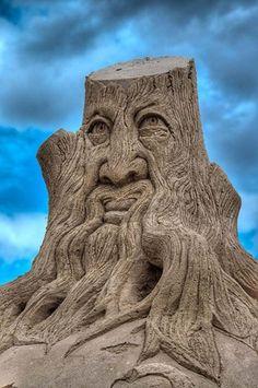 Sand Sculpture | originally pinned by Martha Estrop Hinojosa | #aaa #sandcastle www.aaa.com/travel