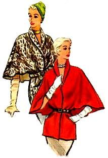 mink stoles Capes and stoles abounded. Including the dressy (real fur) mink stole (mink stoles were very popular if you could afford them). Vintage Dress Patterns, Clothing Patterns, Vintage Dresses, Vintage Coat, Vintage Shoes, 1950s Fashion, Vintage Fashion, Classic Fashion, Fashion Artwork