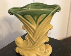 Image result for USA 835 McCoy cornucopia Yard Sale Finds, Vase, Home Decor, Decoration Home, Room Decor, Vases, Home Interior Design, Home Decoration, Interior Design