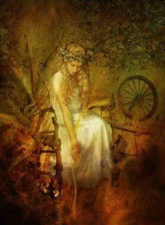 Goddess Frigg