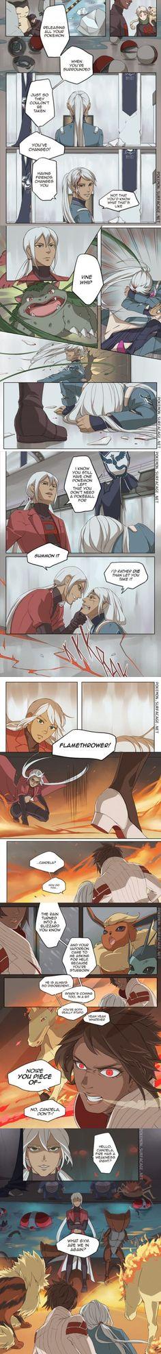Blanche vs Noire (Blanche's Twin : Team Rocket Leader)