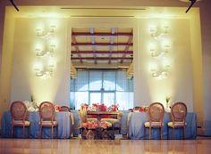 Found Vintage Rentals   Sweet heart set up #sweetheart #dining #eventdecor #specialtyrentals #vintagefurniture