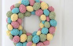 Lisa Loves Holidays: DIY Easter Wreaths