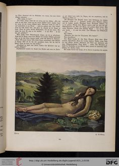 Flora, Jugend, German illustrated weekly magazine for art and life, Volume 30.2, 1925.