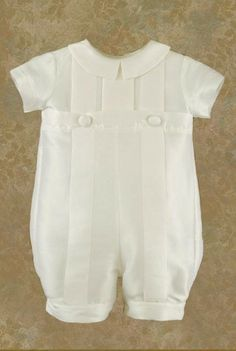 Such a sweet Christening outfit for a boy