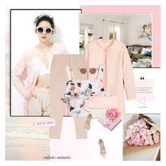 """""""Blushing Pink [Thank You Polyfriends]"""" by rainie-minnie ❤ liked on Polyvore featuring Jakke, BCBGMAXAZRIA, New Look, Preen, Eddie, Gianvito Rossi and Nuuna"""