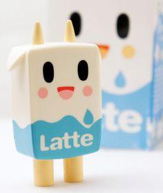 """Tokidoki 2"""" Moofia Series 2 Latte Milk Simone Legno Art Vinyl Toy Kidrobot #Tokidoki"""