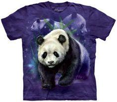Panda Collage T-Shirt Nature and Animals
