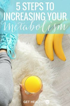 Ever wonder how to boost your metabolism? You're not alone! Check out this blog to see 5 ways to increase your metabolism! #metabolism #healthylife #healthyliving