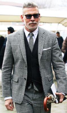 Street Style @ Pitti Uomo, Men's Fall Winter Fashion.