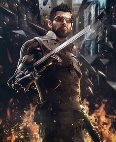 Jensen Promo - Characters & Art - Deus Ex: Mankind Divided