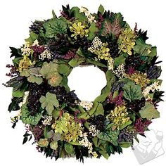 Wine Country Wreath #WineEnthusiast