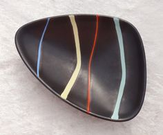 Rare iconic dish. Pisa by Ursula Fesca for Wächetersbach. Will be for sale soon.