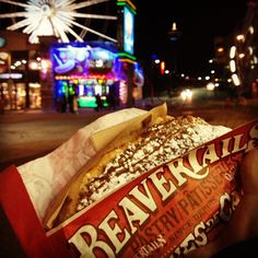 BeaverTails pastries go for the glitz in Niagara Falls! Instagram photo by @elbweezyy (Bert M) | Statigram