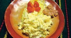 Vajíčkový šalát s tuniakom