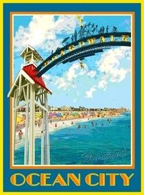 Beach Town Posters Google Search