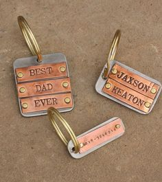 Key Chains by Nelle and Lizzy