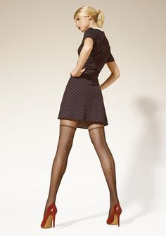 Legs and Heels Hands On Hips, Patterned Tights, Stocking Tights, Perfect World, Spring Summer 2015, Hosiery, Short Dresses, Stockings, Legs