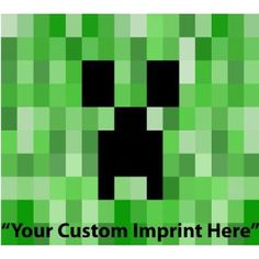 possible quilt pattern for minecraft creeper