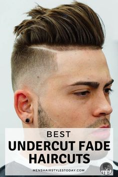 Best Undercut Fade Haircuts #mensfashion #mensstyle #menswear #barbershop #barber #streetstyle #menshair #menshairstyles #menshaircuts #haircut #hairstyle #barberlife #barbergang #barberlove #dapper #fade #taper #undercut