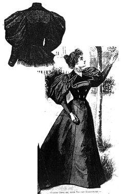 Harper's Bazaar- 1895 pattern