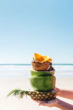 Photo by Luisa Brimble Digital Photography, Food Photography, Breakfast Bowls, Handmade Design, Island Life, Summer Time, Berries, Coconut, Tropical
